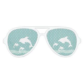 Dolphins Aviator Sunglasses