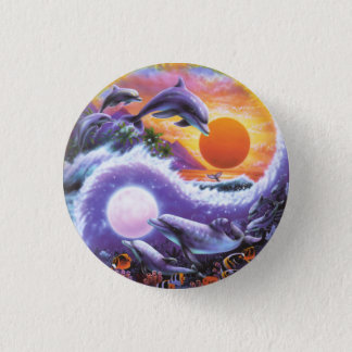 Dolphins Button Small