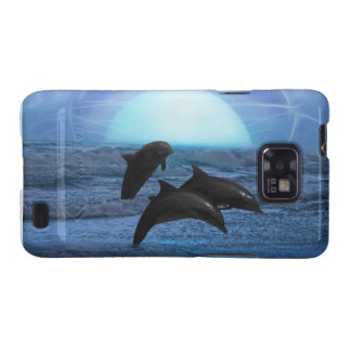 Dolphins by moonlight samsung galaxy s2 covers