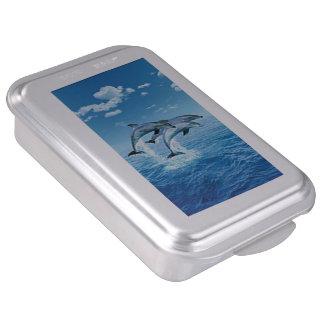 Dolphins Cake Pan