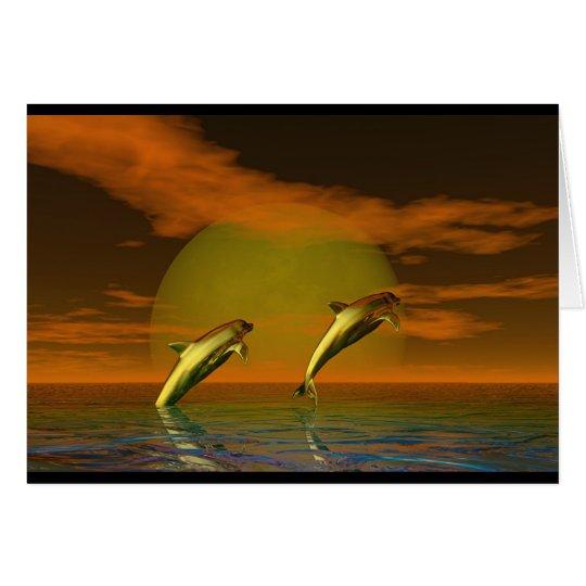 Dolphins Card