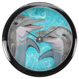 Dolphin's Chatter Aquavista Clock