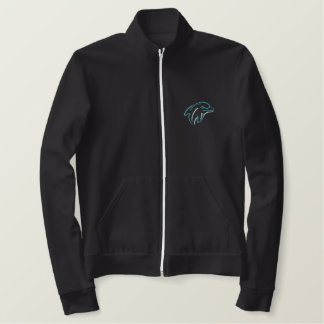 Dolphins Embroidered Jacket