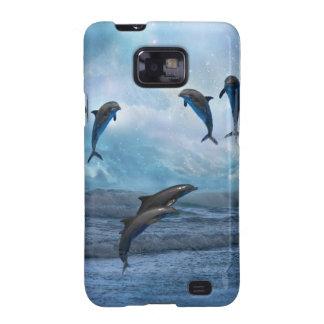 Dolphins fantasy samsung galaxy SII cases