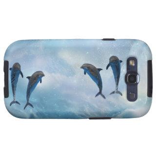 Dolphins fantasy samsung galaxy s3 cases