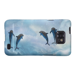 Dolphins fantasy samsung galaxy s2 covers