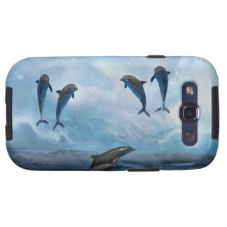 Dolphins fantasy samsung galaxy s3 cover