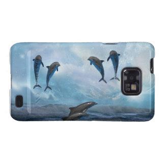 Dolphins fantasy samsung galaxy s2 cases
