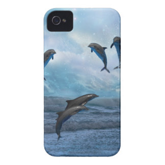 Dolphins fantasy Case-Mate iPhone 4 case