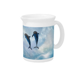 Dolphins fantasy drink pitchers
