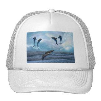 Dolphins fantasy trucker hat