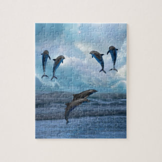 Dolphins fantasy jigsaw puzzle