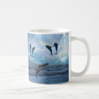 Dolphins fantasy coffee mug