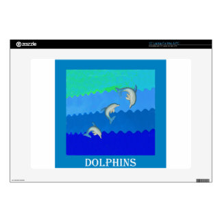Dolphins (Floridia and Mississippi).jpg Laptop Decal