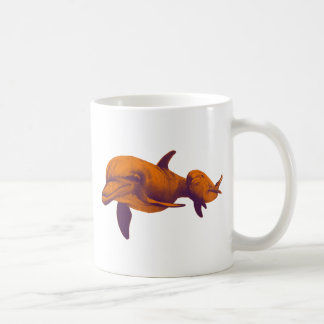 DOLPHINS FOR DREAMS CLASSIC WHITE COFFEE MUG