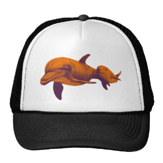 DOLPHINS FOR DREAMS TRUCKER HAT