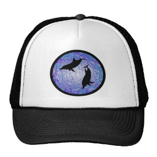 DOLPHINS FOR FRIENDS HATS