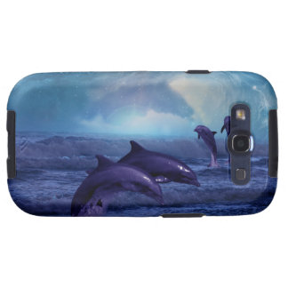 Dolphins fun and play samsung galaxy s3 case