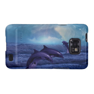 Dolphins fun and play galaxy SII cover
