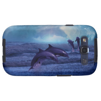 Dolphins fun and play galaxy s3 case