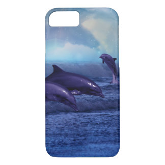 Dolphins fun and play iPhone 8/7 case