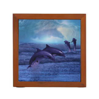 Dolphins fun and play pencil holder