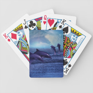 Dolphins fun and play poker cards