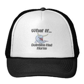 Dolphins Had Horns Trucker Hat