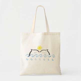 Dolphins in Love Tote Bag