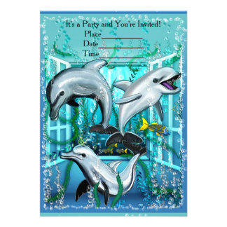 Dolphins in the Room Card