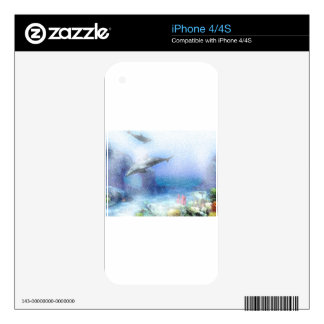 DOLPHINS iPhone 4S SKIN