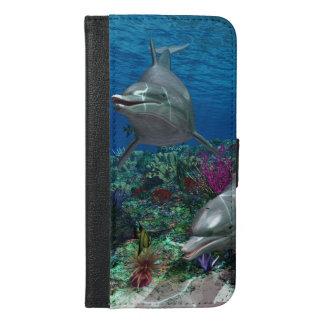 Dolphins iPhone 6/6s Plus Wallet Case