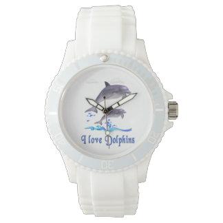 Dolphins items wristwatch