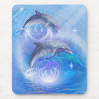 Dolphins Joyride Mouse Pad