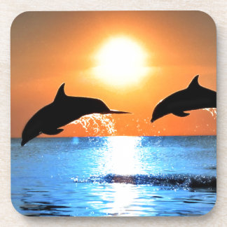 Dolphins Leaping Coasters