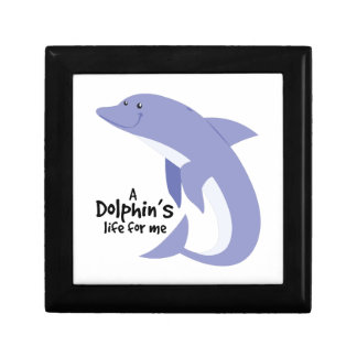 Dolphins Life Jewelry Boxes