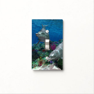 Dolphins Light Switch Cover