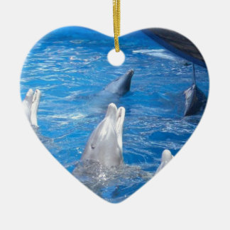 Dolphins Lovers Christmas Tree Ornament