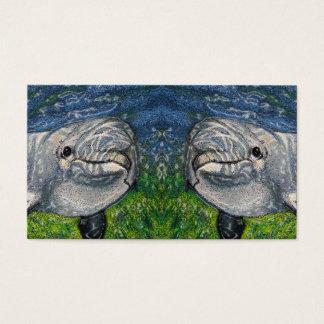 Dolphins: Marine Biologist Business Card: Artwork Business Card