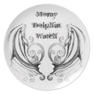 Dolphins Melamine Plate