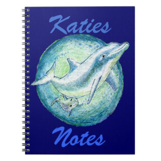 Dolphins 'Mother & Calf' Note Book