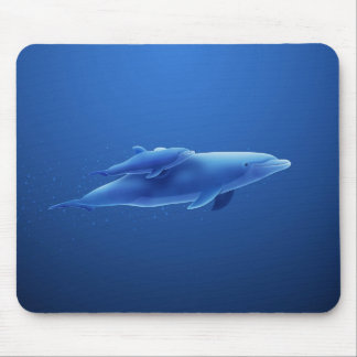 Dolphins Mouse Mats
