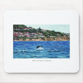 Dolphins Near Palos Verdes Mouse Pad