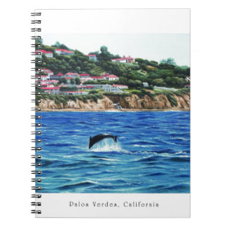 Dolphins Near Palos Verdes Note Book