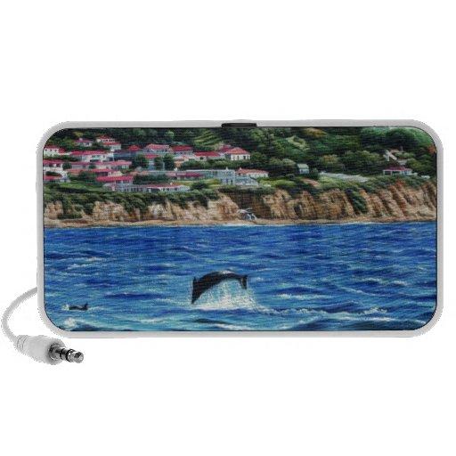 Dolphins Near Palos Verdes PC Speakers