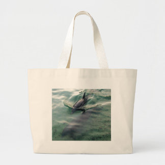 Dolphins of Hawaii Large Tote Bag