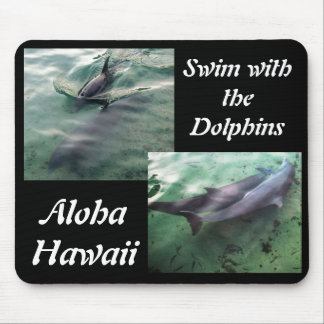 Dolphins of Hawaii Mouse Pad