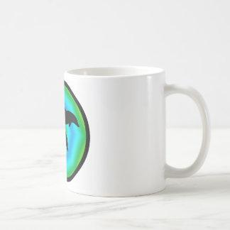 DOLPHINS OF LOVE CLASSIC WHITE COFFEE MUG