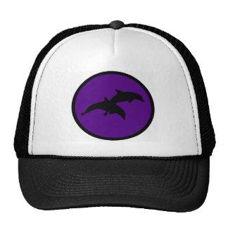 Dolphins of Purple Trucker Hat