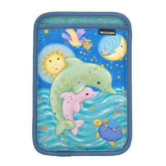 Dolphins Play iPad Mini Sleeve